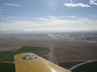 Palmdale Usaf Plant 42 Airport (PMD) - Formation flight with Heavenly Body into Plant 42 - by FieryNature
