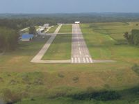 Highland County Airport (HOC) - Short final RWY 23 - by Bob Simmermon