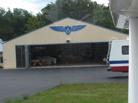 Highland County Airport (HOC) - Hanger 6 - by Bob Simmermon
