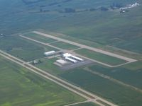 Madison County Airport (UYF) - Looking southeast - by Bob Simmermon