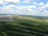 Rickenbacker International Airport (LCK) - Looking east - by Bob Simmermon