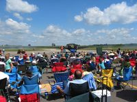 Fairfield County Airport (LHQ) - Airshow crowd at Wings of Victory airshow - Lancaster, Ohio - by Bob Simmermon