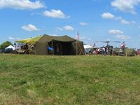 Fairfield County Airport (LHQ) - Part of the military exhibit at Wings of Victory airshow - Lancaster, Ohio - by Bob Simmermon