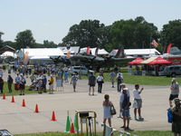 Wittman Regional Airport (OSH) - EAA AirVenture 2008-Scene from a Canon Camera tower - by Doug Robertson