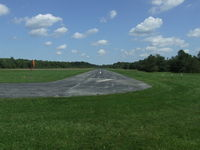 Royalton Airport (9G5) - Looking down runway 7 at Royalton. - by Terry L Swann