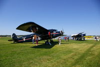Iowa City Municipal Airport (IOW) - Ford and Stinson Tri-Motors visit - by Glenn E. Chatfield