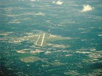 John H Batten Airport (RAC) - John H. Batten, Racine WI. looking southwest  - by Doug Robertson
