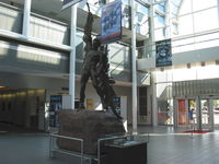 Wright-patterson Afb Airport (FFO) - Statue of Icarus in USAF Museum entry foyer - by Doug Robertson
