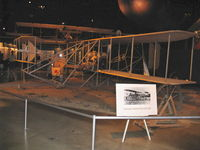 Wright-patterson Afb Airport (FFO) - 1903 Wright Flyer Replica  - by Doug Robertson