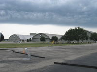 Wright-patterson Afb Airport (FFO) - Museum hangars, partial - by Doug Robertson