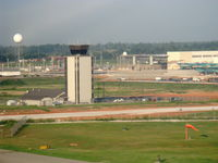 Springfield-branson National Airport (SGF) - Air Traffic Control Tower, from N2111Q - by Doug Robertson