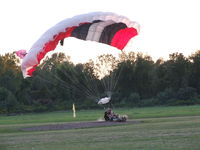 Hollands International Field Airport (85N) - Another successful tandem jump on a lazy Labor Day afternoon - by Jim Uber