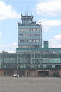 Detroit Metropolitan Wayne County Airport (DTW) - The old tower now used by Wayne County Airport Authority - by Florida Metal