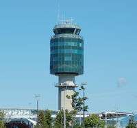 Vancouver International Airport, Vancouver, British Columbia Canada (CYVR) - Vancouver Airport Tower - by David Burrell