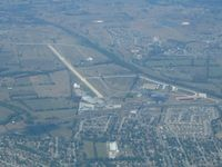 Lucas Field Airport (79KY) - Looking west from 5500' - by Bob Simmermon