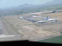 Phoenix Goodyear Airport (GYR) - Storage ramp at Goodyear - by John J. Boling