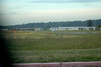Auburn Municipal Airport (S50) - view from ground level, northboung, runway 34 - by Wolf Kotenberg