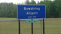 Bowstring Airport (9Y0) - Bowstring Airport - by Ed Wells