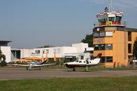 Flugplatz Freiburg Airfield - Freiburg EDTF - Apron - by J. Thoma