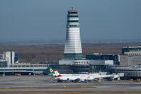 Vienna International Airport, Vienna Austria (VIE) - airport overview from helicopter - by Yakfreak - VAP
