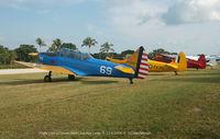 Ocean Reef Club Airport (07FA) - Partial  flight line at Vintage Week  End at Ocean Reef - by J.G. Handelman