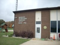 Wabash Municipal Airport (IWH) - FBO building - by IndyPilot63