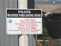 Santa Paula Airport (SZP) - SZP's New Weather Bureau - by Doug Robertson