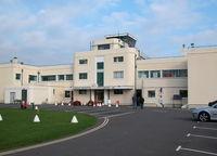 Shoreham Airport, Shoreham United Kingdom (EGKA) - SHOREHAMS ART DECO TERMINAL BUILDING - by BIKE PILOT