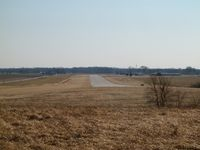 Jasper County Airport (RZL) - runway, as seen from the road. - by IndyPilot63