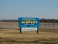 Jasper County Airport (RZL) - sign - by IndyPilot63