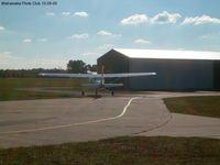 Mishawaka Pilots Club Airport (3C1) - hangars - by IndyPilot63