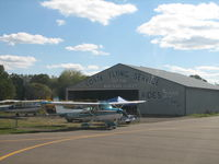 Corning-painted Post Airport (7N1) - The old flying service - by Sam Andrews