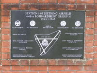 Seething Airfield - Outside the Seething airfield Control Tower Museum - by chris hall