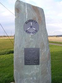 Elmsett Airport - at the entrance to Elmsett Airfield - by chris hall