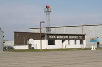 York Municipal Airport (JYR) - Executive Terminal - by Mark Pasqualino