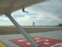 Rapid City Regional Airport (RAP) - After landing rwy 32. - by Victor Agababov