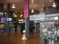 Rotterdam Airport, Rotterdam Netherlands (EHRD) - Rotterdam Airport 2008 , Entrance Departure Hall - by Henk Geerlings