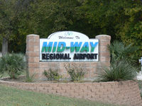 Mid-way Regional Airport (JWY) - Midlothain/Waxahachie Regional Airport - by Zane Adams