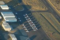 Alpine-casparis Municipal Airport (E38) - Taken from N637CP - by Chuck Tetlow