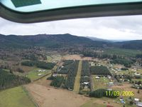 Bear Valley Skyranch Airport (WN47) - Looking at Runway - by kentmorrison
