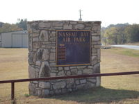 Nassau Bay Airport (0TX0) - Nassau Bay Airfield Sign - by Brad Benson N8419R