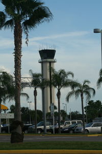 St Petersburg-clearwater International Airport (PIE) - Control tower at St. Petersburg Airport - by Florida Metal