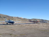 Tehachapi Municipal Airport (TSP) - Tehachapi Benbow Aviation Parking - by COOL LAST SAMURAI