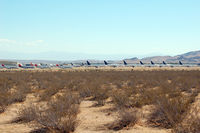 Mojave Airport (MHV) - Mojave desert storage/scrap yard - by Micha Lueck