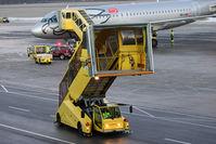 Innsbruck Airport, Innsbruck Austria (LOWI) - Flughafen Fahrzeug / airport car Innsbruck - by Juergen Postl