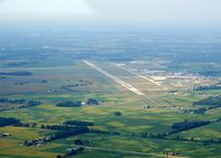 Springfield-beckley Municipal Airport (SGH) - Looking West - by Allen M. Schultheiss
