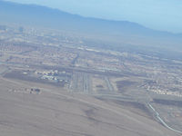 Henderson Executive Airport (HND) - HND Rwy35L 5mile on final.  - by COOL LAST SAMURAI