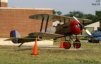 Langley Afb Airport (LFI) - Nieuport 28 replica in the 94th Pursuit Sqdn colors.  Nice touch of history, one of the first types flown by the 1st Pursuit Group - by Paul Perry