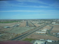 Imperial County Airport (IPL) - short final Imperial Rwy32 - by COOL LAST SAMURAI