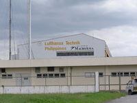 Ninoy Aquino International Airport, Manila Philippines (RPLL) - MRO facility at Manila - by John J. Boling